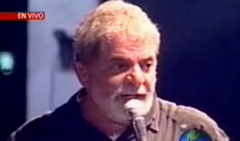 "Lula (Brazil) @ WSF: ""Now the crisis is theirs (the rich west), not ours."""