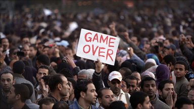 Message to Mubarek: GAME OVER