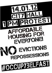 Occupy Belfast Housing Protest