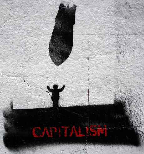 mayday weekend dublin actions - street art against capitalism