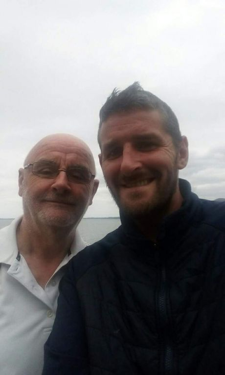 hide:Sean Crudden pictured on the Carlingford/Omeath Greenway