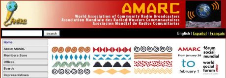 AMARC - live radio coverage from WSF 09, Belém, Brazil