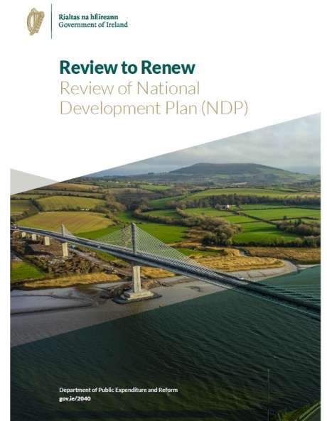 Review of National Development Plan 2040 Cover