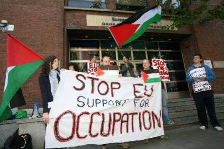Stop EU support of Israeli occupation