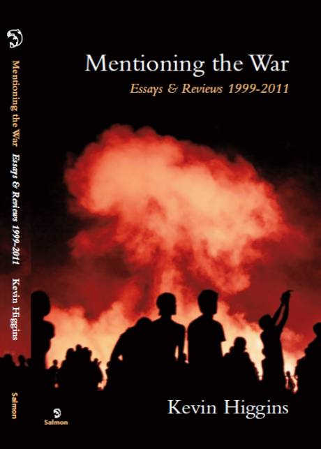 Mentioning The War: Essays & Reviews (1999-2011) published by Salmon