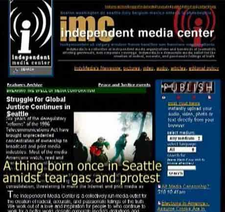 A thing born once in Seattle amidst tear gas and protest > happy birthday indymedia