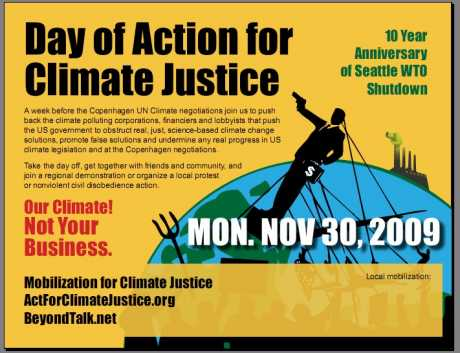 N30 - day of action for climate justice