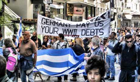 Germans pay us your WW2 debts