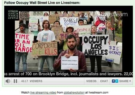 In the US, OCCUPY TOGETHER has gone from 0 to 400 places taking action... and growing