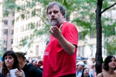 "Žižek at Wall Street: ""don't fall in love with yourselves"""
