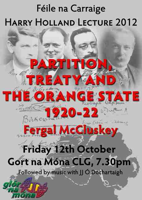 Partition, Treaty and the Orange State 1920-22