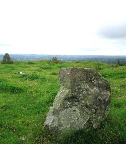 The Smaller of Two Stone Circles, Banagher