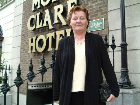 Mrs Anne M Muldowney, incoming chairperson of impero, pictured before the reception.