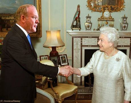 Lord McGuinness receives a welcome boost to his Phoenix Park campaign from his employer....